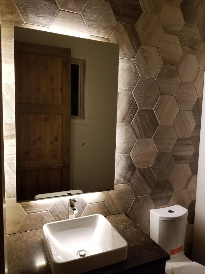 bath mirror company bend oregon