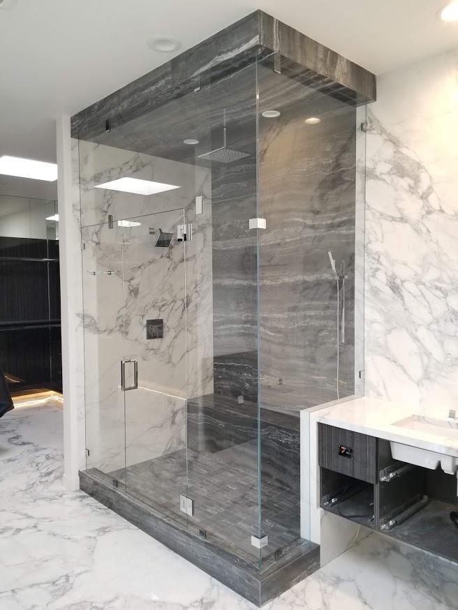 glass shower installation oregon